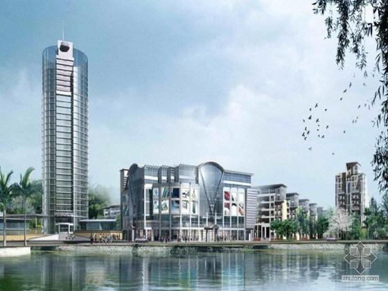 [西安]某国际小区建筑设计文本