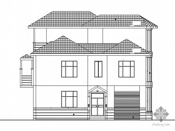某三层山地别墅建筑施工图