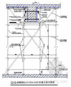 东莞市某高层建筑高大模板施工方案(首层架空层及转换层)