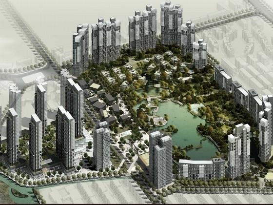 [成都]景观式高层住宅区规划设计方案文本
