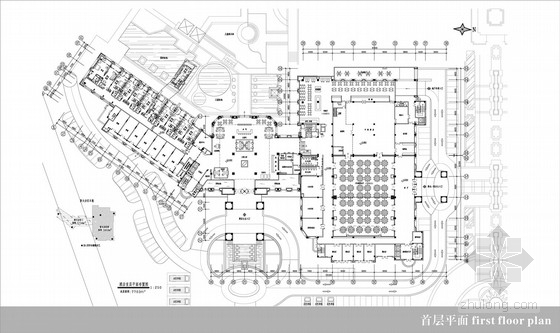 [江苏]高档五星级现代风格酒店公共区室内设计方案