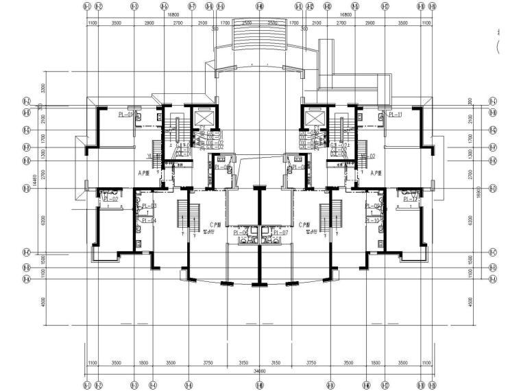 [营口]世贸中心商业综合体给排水消防全套施工图134张