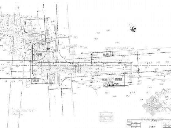 [江苏]地下两层明挖10.5m岛式站台车站施工图61张(含出入口楼梯电梯)