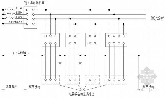 [广东]高层住宅楼施工用电专项施工方案