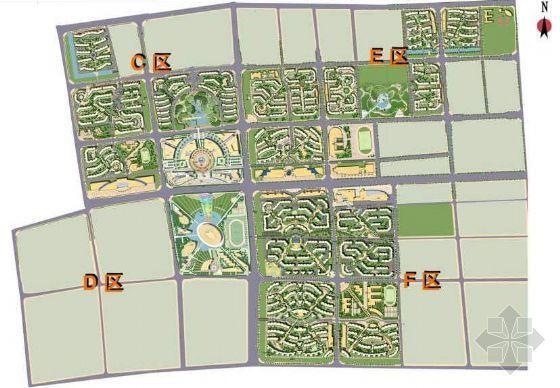 北京文化居住区景观规划方案(二)-2