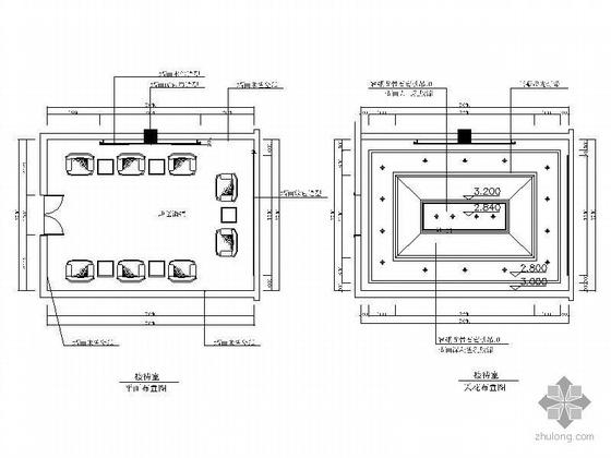 小型接待室装修图