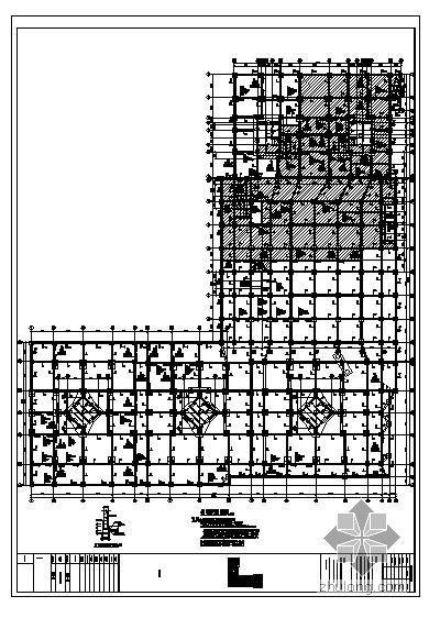 深圳某广场结构图