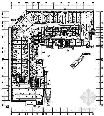八万平米一类高层建筑全套电气施工图纸106张(含地下室、商业裙房)