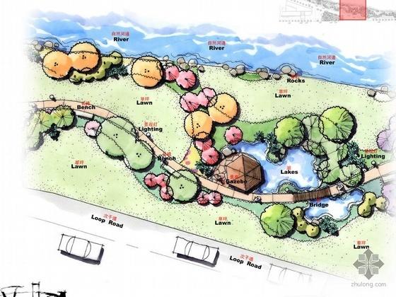 安徽省某街道建筑配套景观规划设计方案