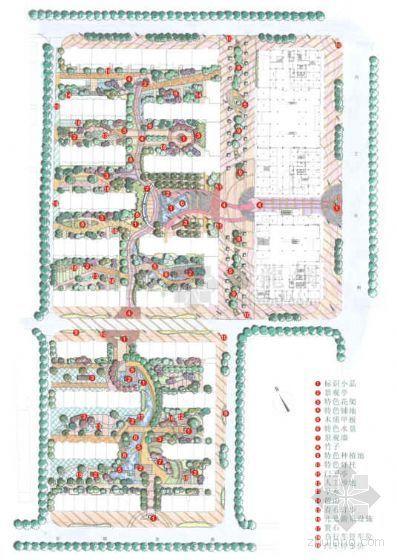 [浙江杭州]小区环境景观概念设计方案