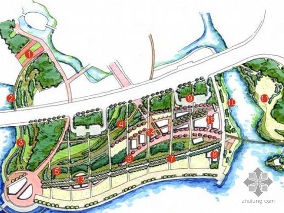 无锡某滨水风景区景观规划设计