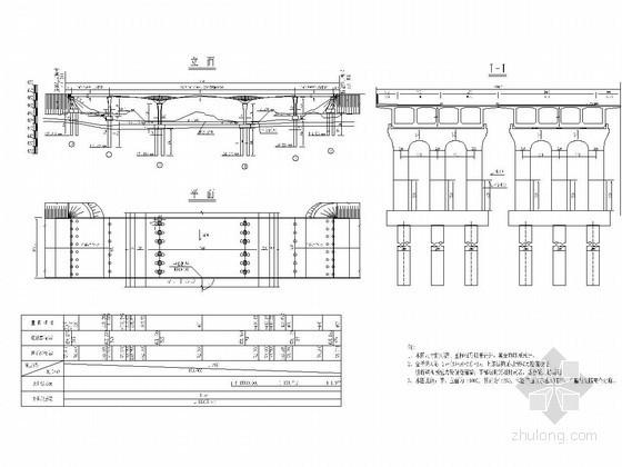 预应力混凝土简支现浇连续梁桥施工方案(含CAD节点详图 支架计算书)