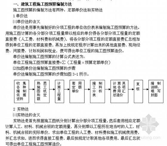 土木工程概预算与工程量清单计价教案讲义(90页)