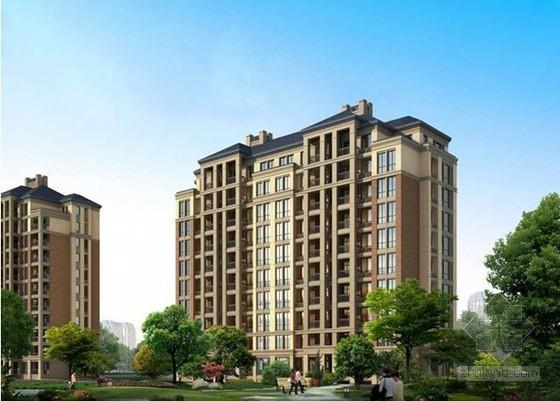 厦门28层高层住宅楼(土建)工程造价指标(2013.1)