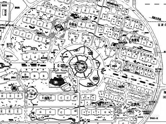 [宁波]沿江知名地产公园景观工程全套施工图(包含效果图)