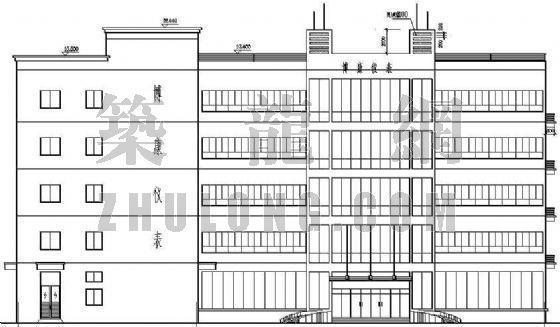 某生产车间兼办公楼建筑施工图(全套)