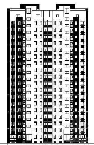 某十八层高层住宅楼建筑设计方案