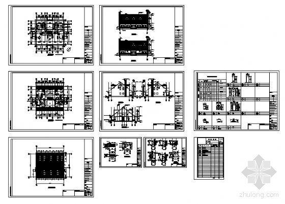某二层别墅(A型)建筑方案图-4