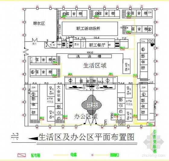 苏州某工业园区临时用电施工方案(附图)