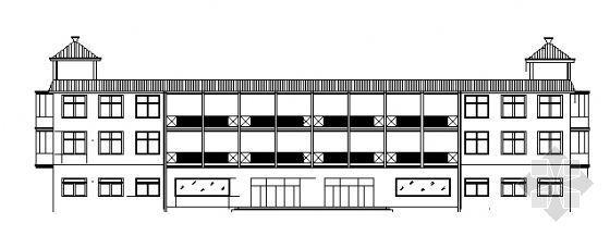 三层宿舍楼建施图