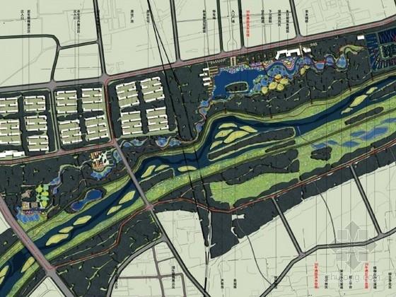 [山西]滨河湿地公园景观深化设计方案(北京著名设计院)