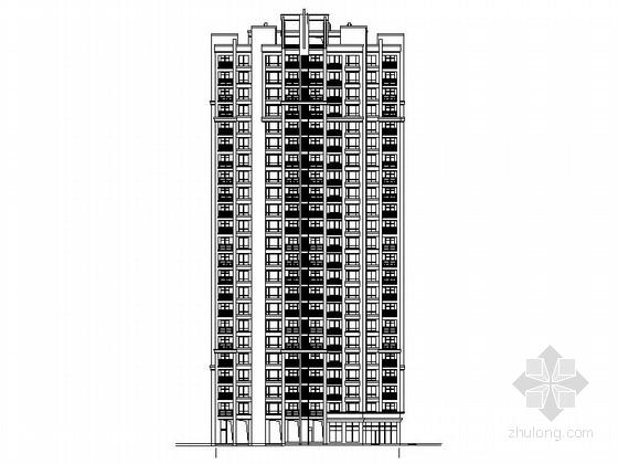[长沙]高层框支剪力墙结构塔式住宅建筑施工图
