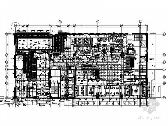 [太原]首家国际品牌奢华酒店室内装修施工图(含全套方案)