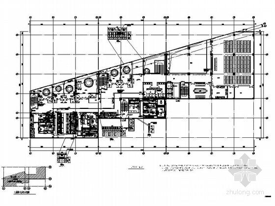 [北京]现代酒店综合楼室内装修施工图(含效果图)