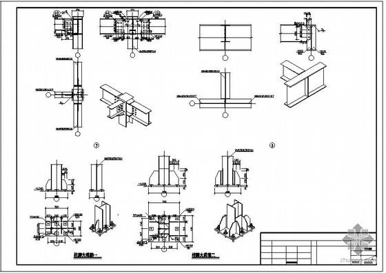 某钢结构大门结构设计图
