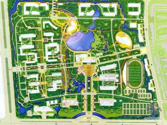 江苏校园景观方案设计