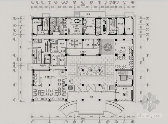 [乌鲁木齐]中石油指挥中心现代行政服务中心方案图