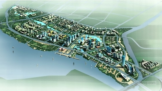 [福建]城市综合体规划及单体设计方案文本(国外知名建筑事务所设计方案)