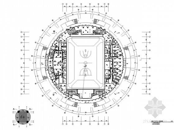 [重庆]大学体育馆暖通空调设计施工图