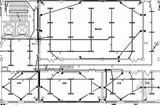 某大楼改造工程强电图纸