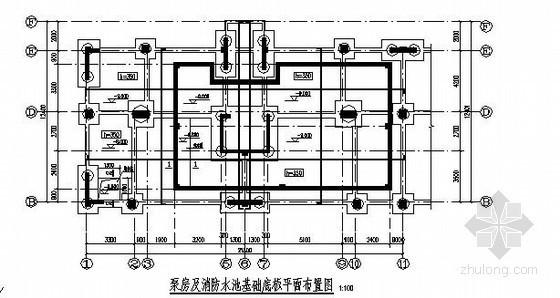 水池消防泵房详图