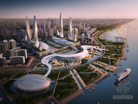 [广东]复合型沿海城市中心景观规划设计方案