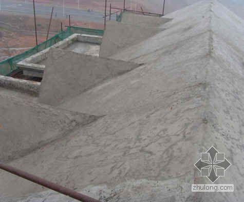 坡屋面现浇钢筋混凝土施工外观质量控制(QC)