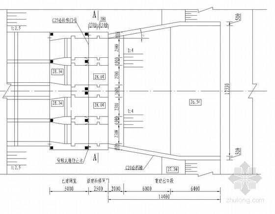 [湖南]4×2.5×2.5m自排涵闸改造施工图