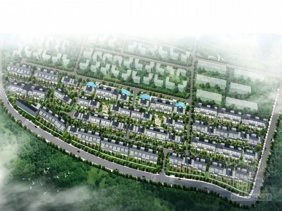 [武汉]生态山水的别墅景观规划设计方案