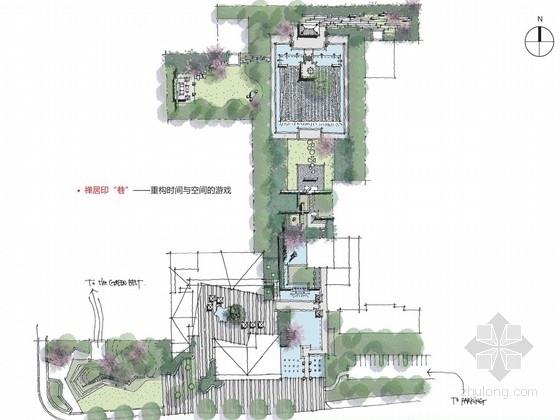 [江苏]新中式景观工业园区景观设计方案