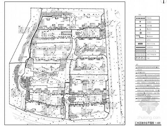 [山东]海绵城市试点区域海绵城市设计图82张(小区道路 高速服务区)