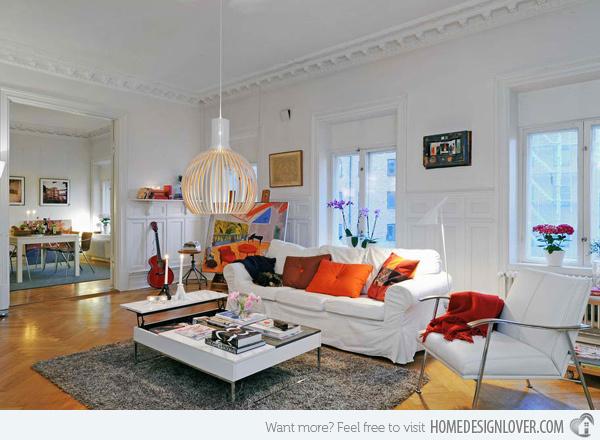 20个时尚的客厅装修设计案例_17