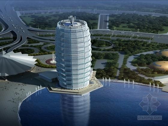 [郑州]63层超高层建筑幕墙结构施工图(含幕墙计算书)