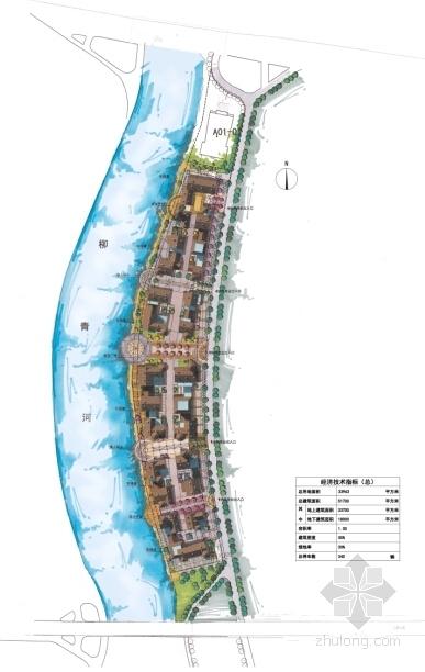 西班牙异域风格艺术文化商业街总平面图