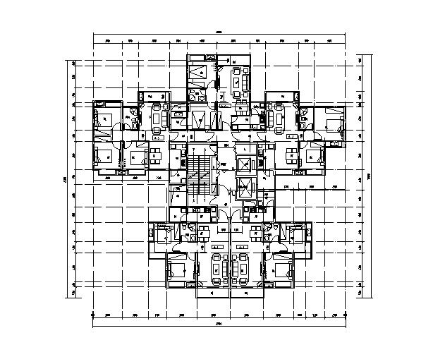 [墙体][四川]知名设计院方案高层生产中心建筑设改造旧城设计素材图片