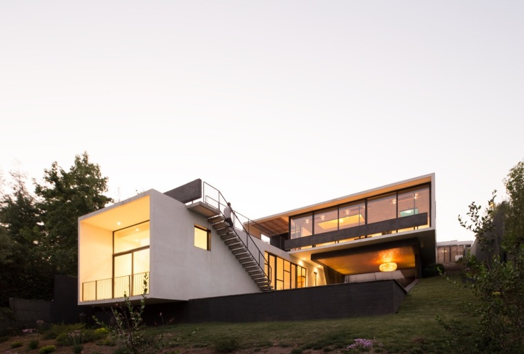 智利现代主义住宅-居住建筑案例-筑龙建筑设计论坛