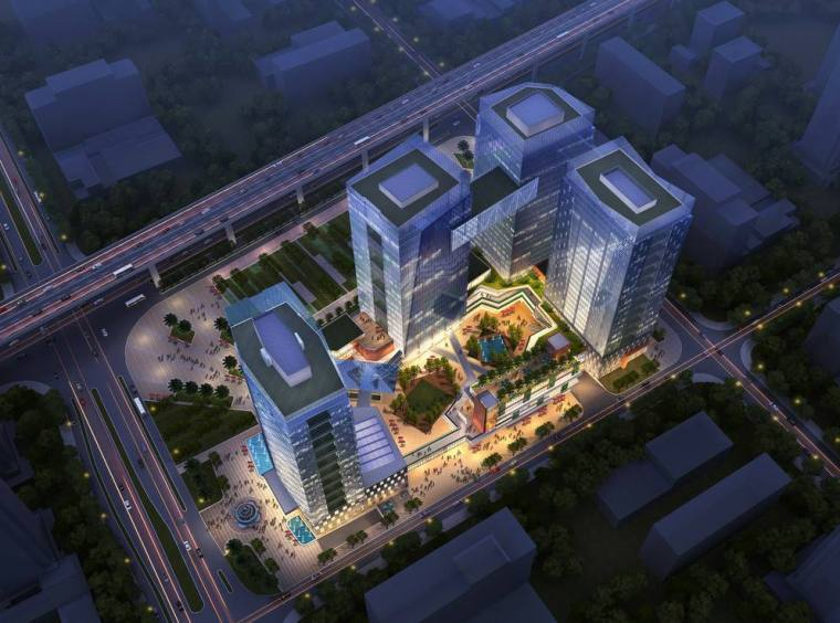 [上海]青浦绿地商业综合体建筑设计方案文本