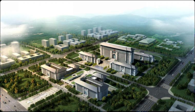 [延安市]行政中心及市民服务中心工程项目绿色施工总结汇报资料(71页,图文丰富)