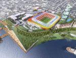 足球场方案——可伸缩的屋顶