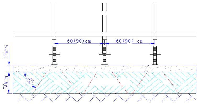 省道隧道工程桥梁现浇箱梁满堂支架施工计算_2